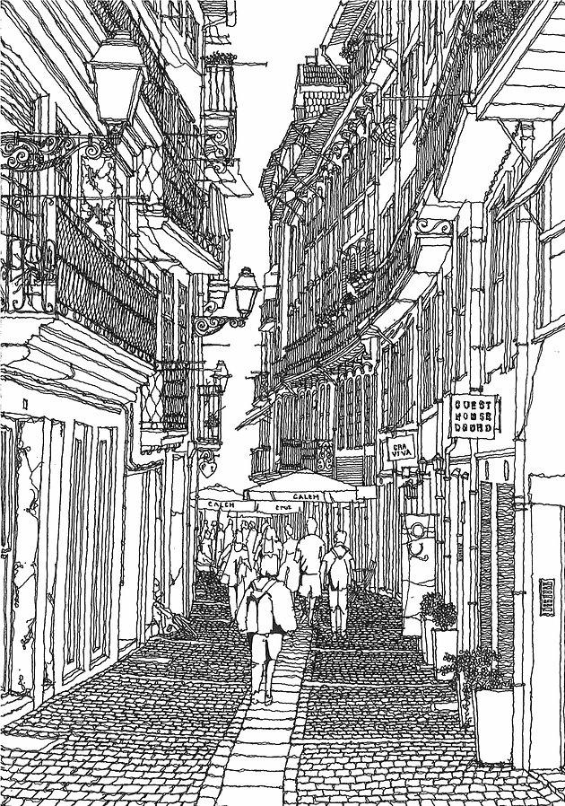 Porto Sketch 2