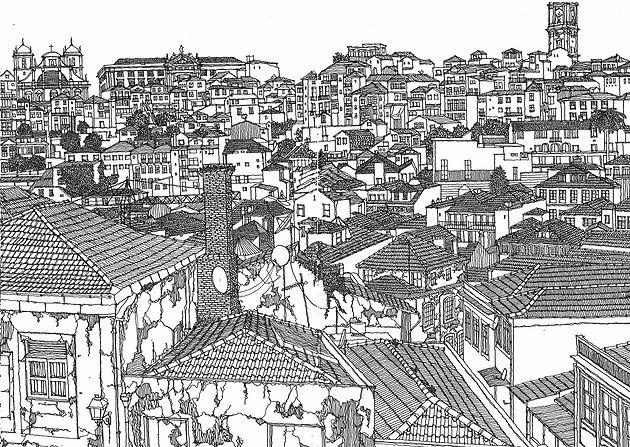 Porto Sketch 3