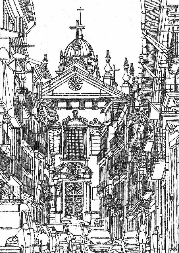 Porto Sketch 5