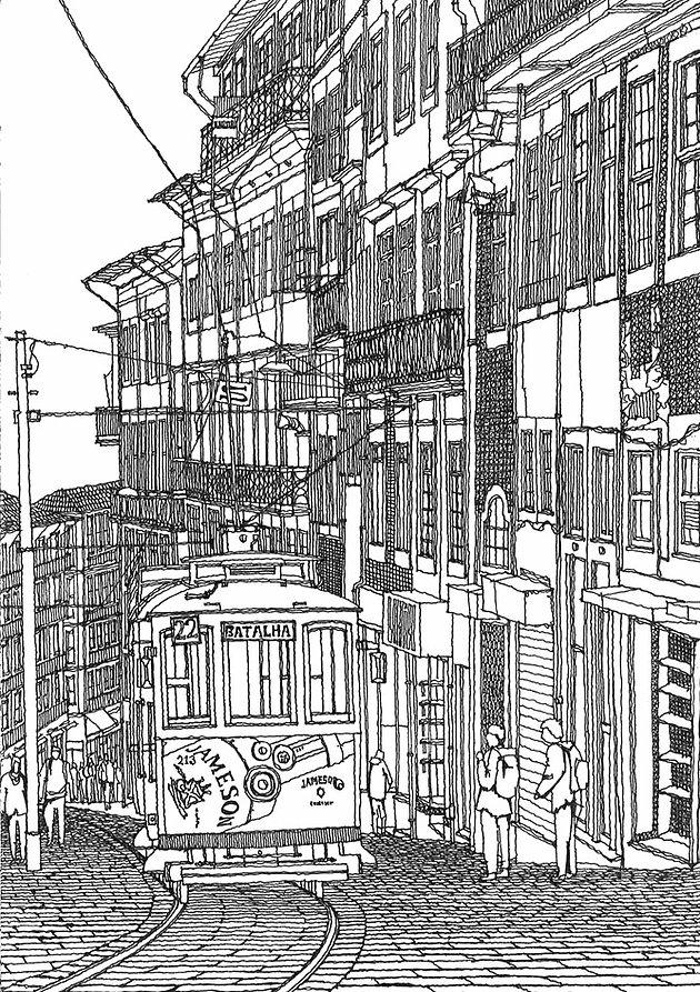 Porto Sketch 6